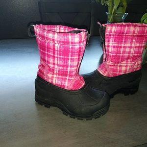 Little girls Northside snow boots